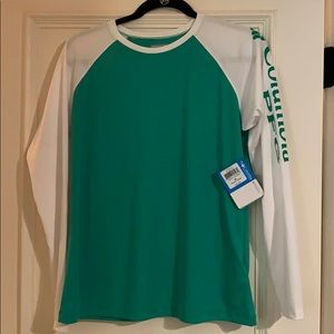Columbia omnishade shirt medium